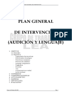 Plan General de Intervencion