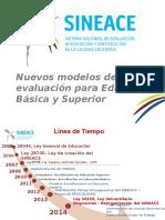 Nuevos Modelos de Acreditación en Consulta - SineaceOK