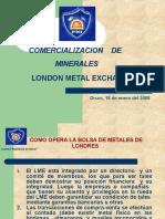LME y COMEX (Comercializacion)