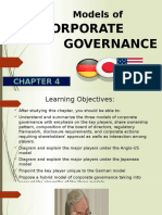 Chapter 4 Models of Corporate Governance