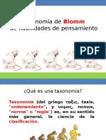 Taxonomía de Blomm