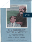 Fritz Peters My Journey With a Mystic Hardback Scan