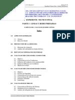 Contenido de Memoria de Calculos Justificativos de Una Linea y Red Primaria de Un PSE_BA23BB