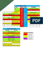 Enbicon Schedule 2016