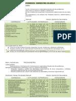 Contenidos Secundaria Primaria Algebra Trigonometría Fisica  Bimestre III