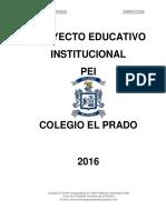 PEI Colegio El Prado 2016