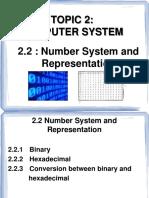 2.2 Number System