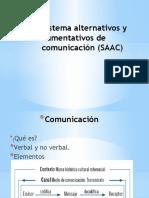 Sistema Alternativos y Aumentativos de Comunicación (SAAC