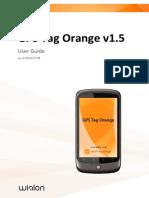 Gps Tag Orange