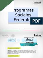 Presentación Programas Federales