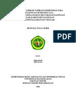 Cover Analisa Air Limbah Tambang Bijih Emas Pada Pt