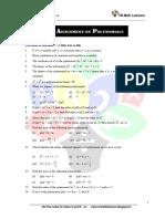 Polynomials for IX