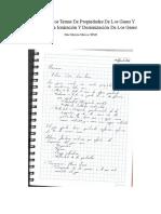 Resumen de Los Temas de Propiedades de Los Gases y Los Procesos de Ionización y Desionización de Los Gases