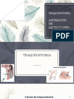 Traqueostomia y Aspiración de Secreciones