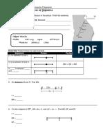 sp measurements of segments