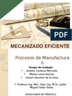 Mecanizado-eficiente