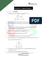 Herons Formula For IX