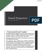 2. Email Etiquettes 17-11-2014