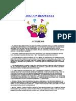 100 Acertijos Con Respuesta