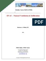 HVAC - Natural Ventilation & Infiltration.