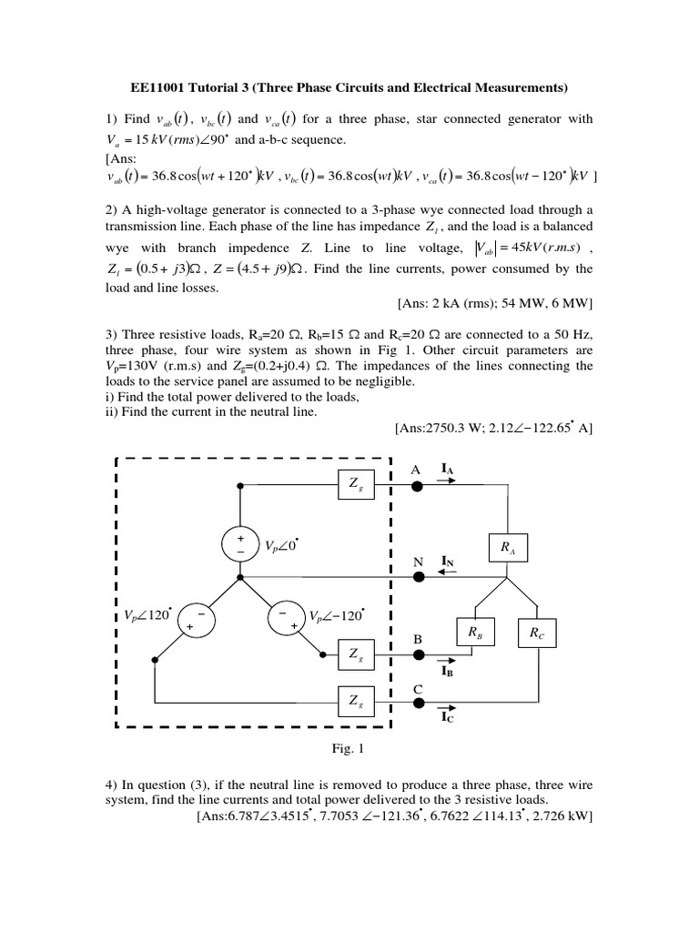 Assin3pdf Series And Parallel Circuits Manufactured Goods Ac Circuit With Resistive Loads