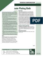 Indium Sulfamate Plating Bath 97686 r5