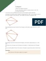 Angle Properties of Polygons