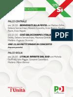 Programma Festa Catania