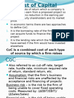Chapter 5 - Cost of Capital SML 401 Btech.pptx