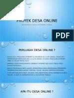 Project Desa Online