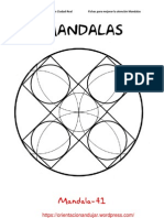 Mandalas Fichas 41 60