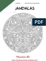 Mandalas Fichas 81 100