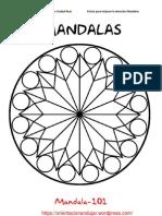 Mandalas Fichas 101 120
