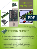 Primary Memory Final