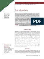 Blood Pressure in Acute Ischemic Stroke