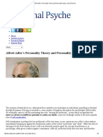 Alfred Adler's Personality Theory and Personality Types _ Journal Psyche