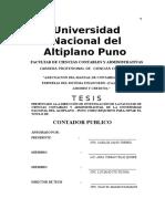 Adecuacion Del Manual de Contabilidad Para Las Empresas Del Sistema Financiero Cajas Rurales de A