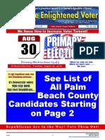 16-11E August 25 Issue - The Enlightened Voter