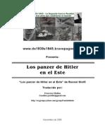 los panzer de hitler en el este