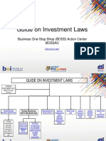 Guide on Investment Laws