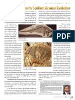 Two Recent Fossils Confront Gradual Evolution