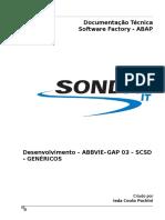 Dt Abap - Titulo Desenvolvimento - Abbvie - Gap 03 - Scsd - Genéricos