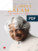 The Righteous Life_ the Very Be - A.p.j. Abdul Kalam