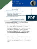 Resumen Informativo 32 2016