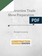 Construction Trade Show Preparation