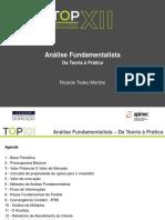 05.07.2013 - Analise Fundamentalista - Apimec - Ricardo Martins