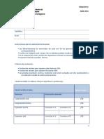 Examen Ingles b1 Acles Junio 2014