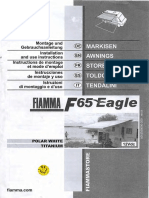 Fiamma F65 Eagle Awning Airstream Interstate Manual