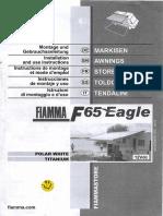 Fiamma F65 Eagle Awning Airstream Interstate Manual