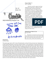 Daily Double, Volume 42, Issue 12A